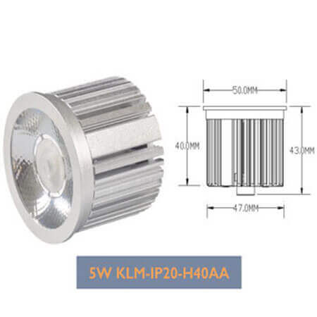 5W CREE Spot LED Downlight Module