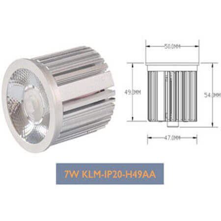 7W Dimmer LED Module Downlight