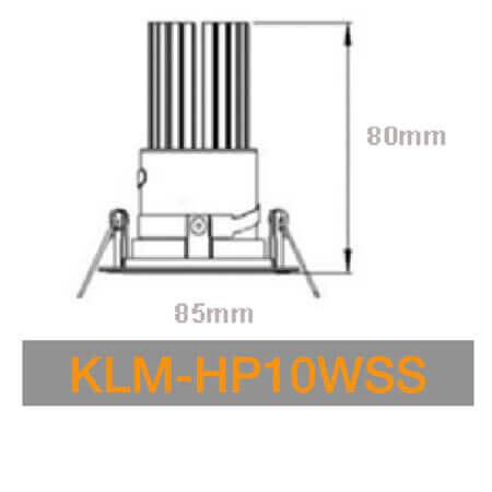 KLM HP10WSS