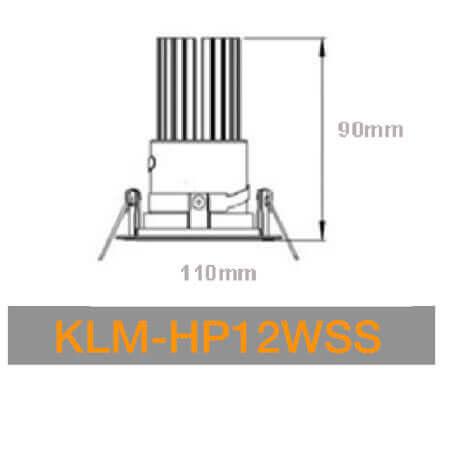 KLM HP12WSS