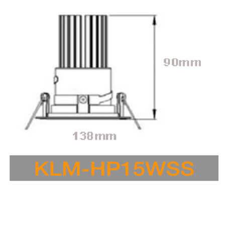 KLM HP15WSS