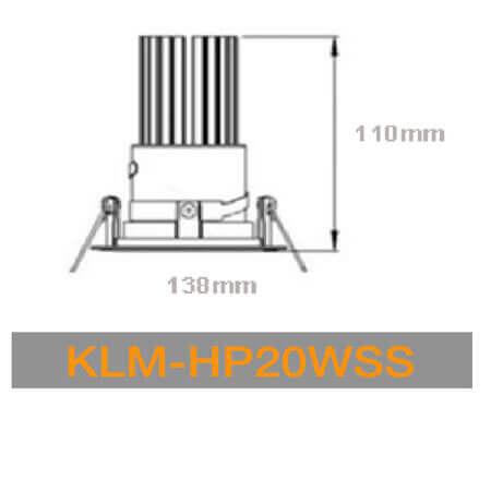 KLM HP20WSS