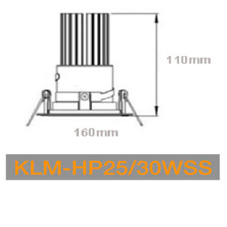KLM HP25WSS 30W
