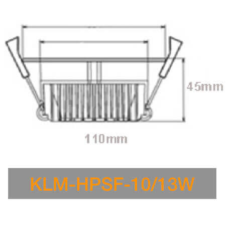 KLM HPSN 10W 13W