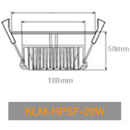 KLM HPSN 20W