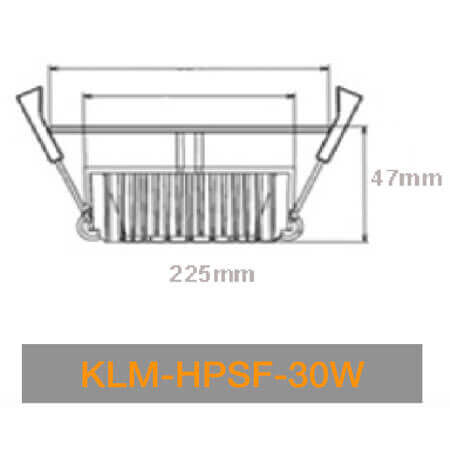 KLM HPSN 30W