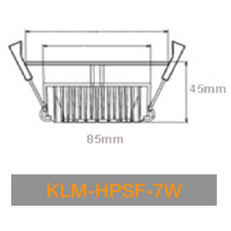 KLM HPSN 7W