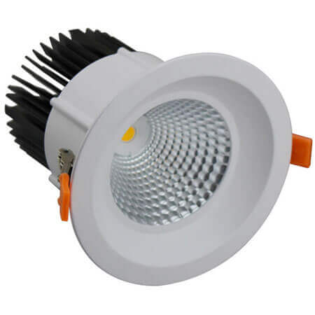 SAA Certified High Watt 60W 200mm Cut Hole 60 Degree COB Recessed LED Downlight
