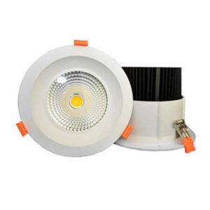 dimmable cob downlight 30w 40w 50w 60w 200mm led downlight