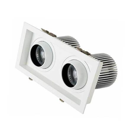 12x2w LED cob downlight