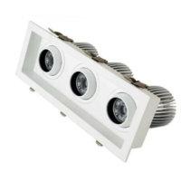 adjustable 12X3 3head recessed led down light