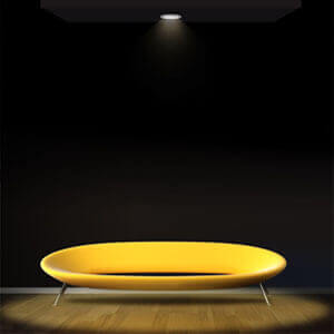led module downlight effect 1