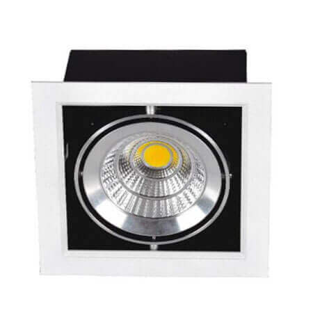 Adjustable 30w led grill down light