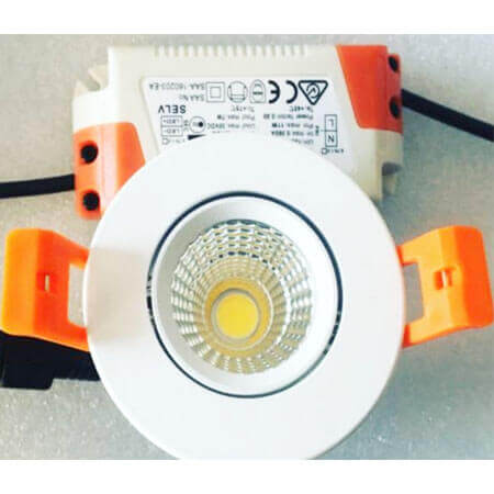small led cob downlight 5w