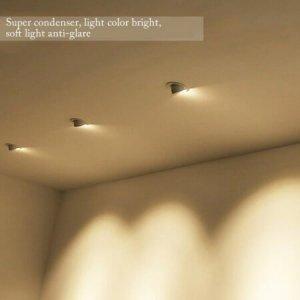 50w 30w led gimbal downlight shop effect