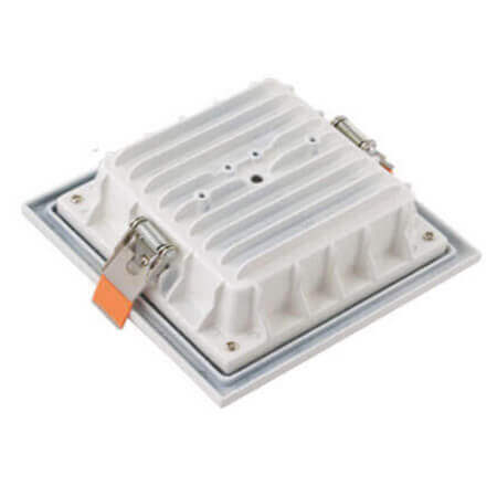 Square white color downlight