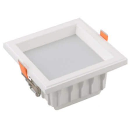 smd white LED Square downlight